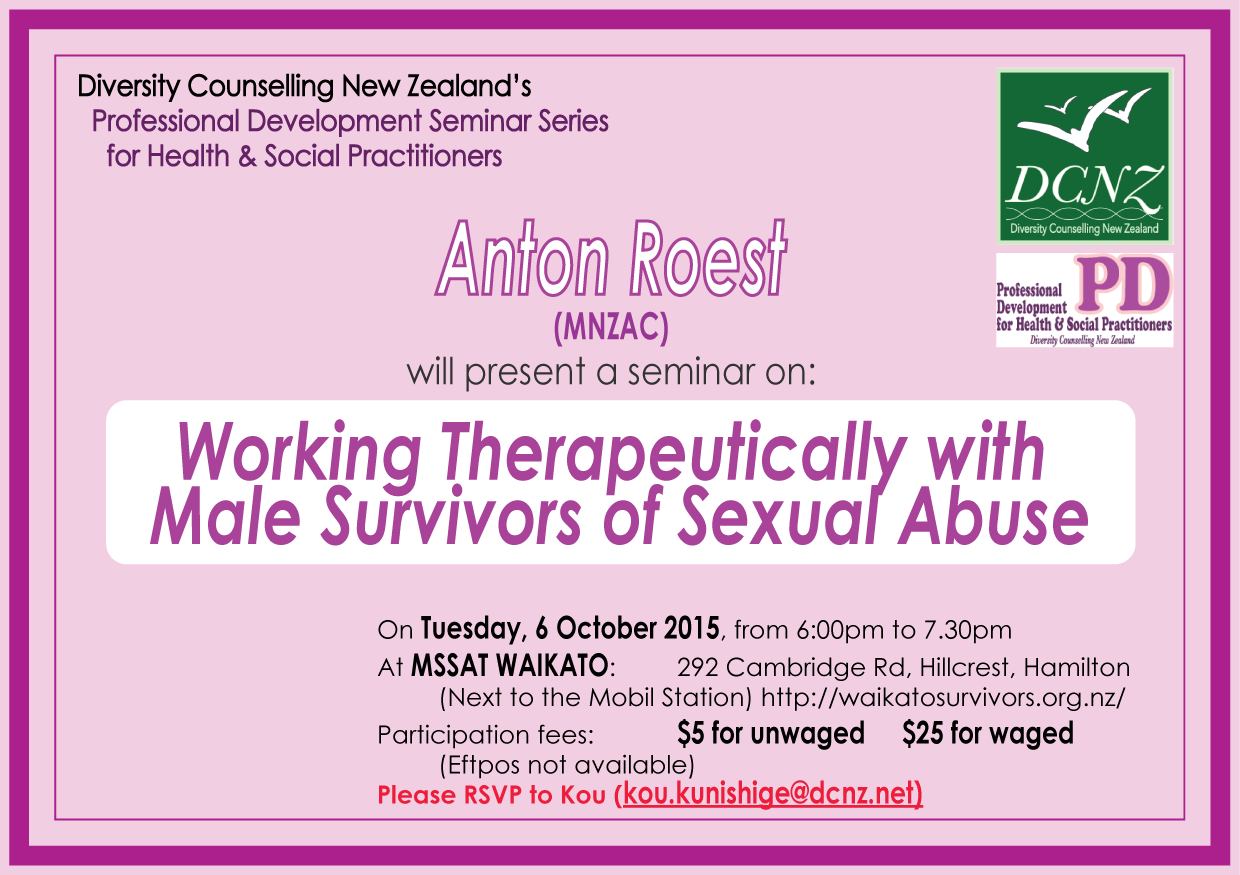 PD Seminar on 6 October 2015
