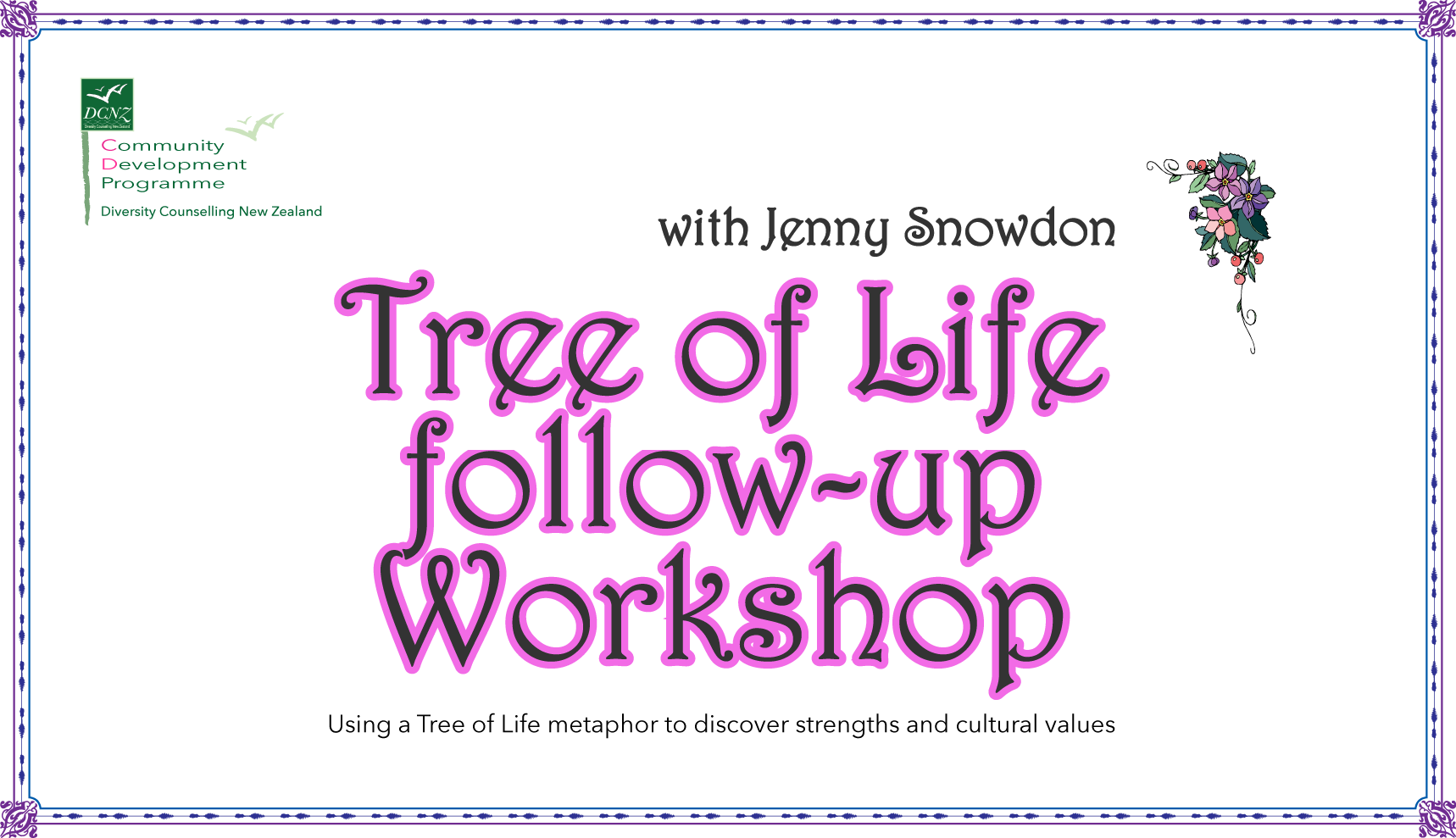"""Tree of Life"" Follow-up Workshop"