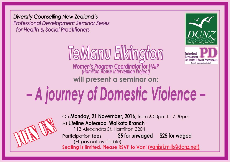 PD Seminar on 21 November 2016