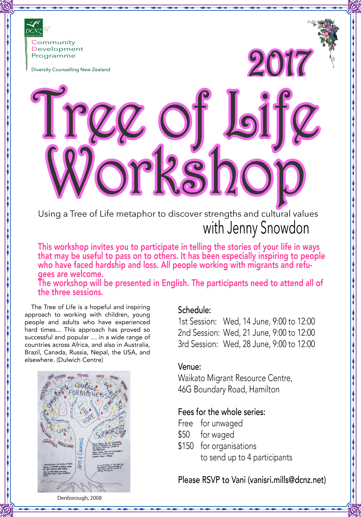 Tree of Life Workshop (June 2017)