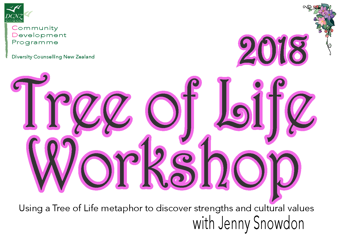 Tree of Life Workshop with Jenny Snowdon (June 2018)