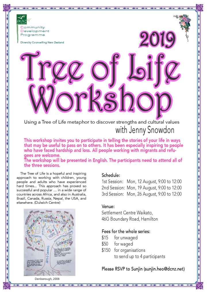 Tree of Life Workshop with Jenny Snowdon (AUG 2019)
