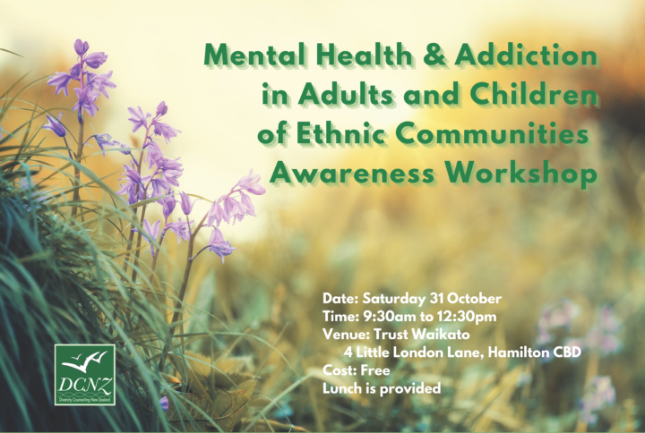 Mental Health & Addiction in Adults and Children of Ethnic Communities