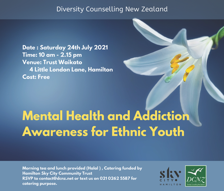 Mental Health and Addiction Awareness for Ethnic Youth